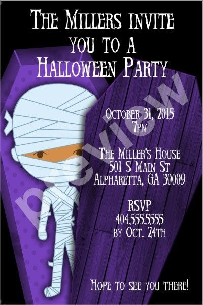 17 best images about halloween party invitations on pinterest, Party invitations