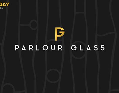 """Check out new work on my @Behance portfolio: """"Parlour Glass fusion artist / 1logo a day #03"""" http://be.net/gallery/33159847/Parlour-Glass-fusion-artist-1logo-a-day-03"""
