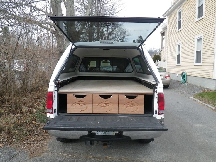 17 best images about truck bed storage on pinterest trucks fishing and honda element - Truck bed storage ideas ...