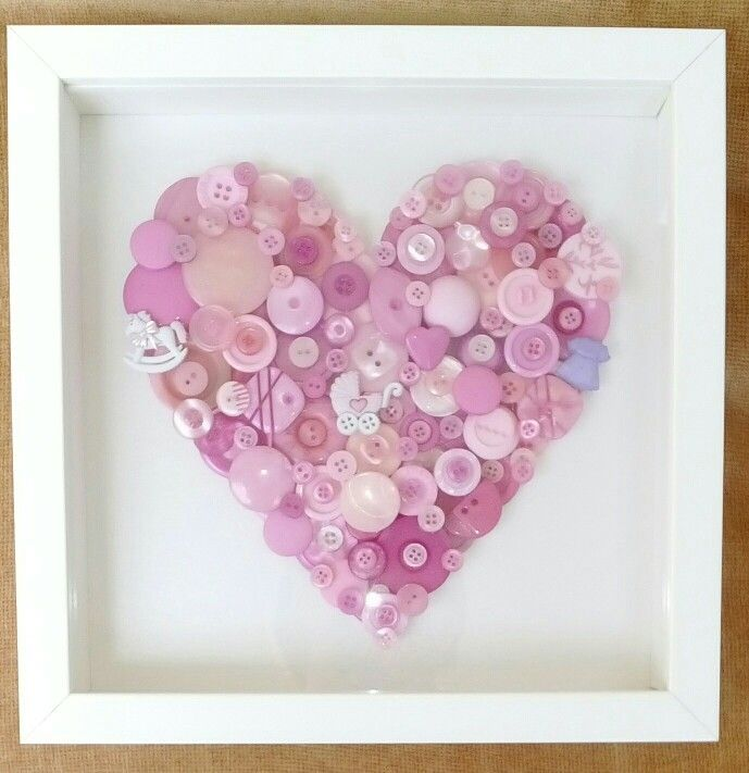 11 best Baby Girl Frames images on Pinterest | Arm work, Craft and ...