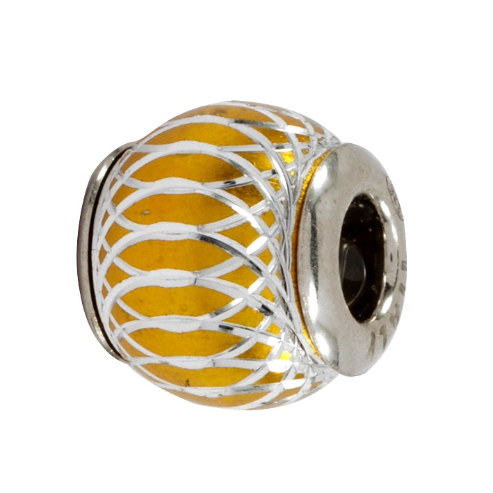 Amore & Baci 36009 silver and alluminium bead