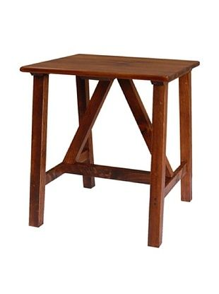 65% OFF 2 Day Designs Pine Creek End Table, Pine