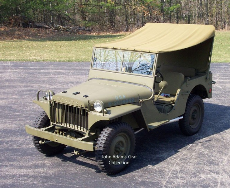 1941 Willys MA when it was in Chet Krause's Jeep