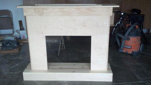 Building A Custom Electric Fireplace Surround Diy