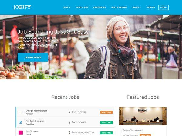 15 Responsive Job Board WordPress Themes