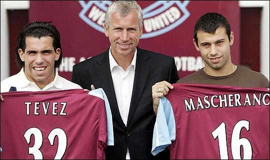 "August 2006 should have marked the dawn of a new era at West Ham. Boss Alan Pardew unveils two stellar signings, Argentina World Cup pair Carlos Tevez and Javier Mascherano. Pardew compares Tevez with Wayne Rooney and talks of the 22-year-old taking the Irons to ""another level"""