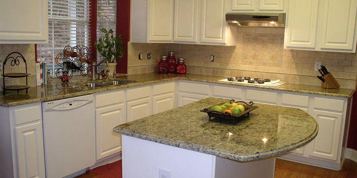 Best Dallas White Granite With White Cabinets Granite 640 x 480