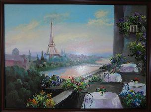 Париж - Городской пейзаж <- Картины маслом <- Картины - Каталог | Универсальный интернет-магазин подарков и сувениров