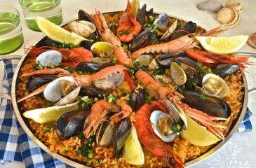 Паэлья с морепродуктами - рецепты с фото. Как приготовить классическую испанскую паэлью в домашних условиях