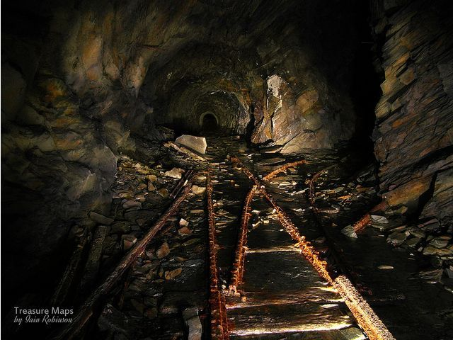 Abandoned Slate Mine North Wales Favorite Places