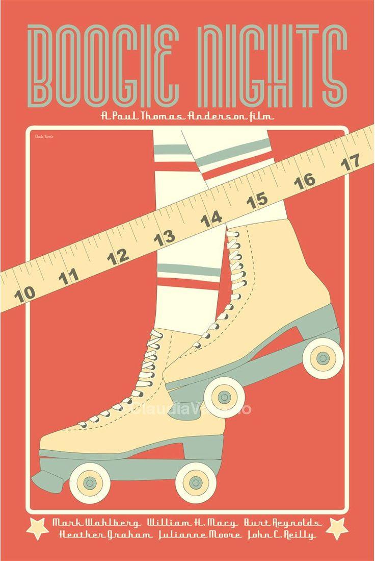 Boogie Nights (1997) - Minimal Movie Poster by Claudia Varosio #minimalmovieposter #alternativemovieposter #90smovies #claudiavarosio