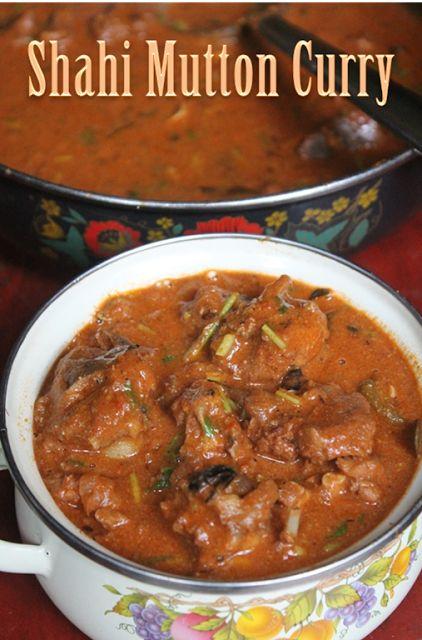 YUMMY TUMMY: Shahi Mutton Curry Recipe - Mughlai Mutton Recipe
