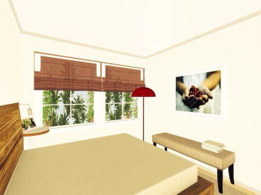 3d floor plans - konstadina nastou decorator-http://kinteriorsblog.wordpress.com/ #floorplans #roomsketcher #bedroom #red #interiors #interiors