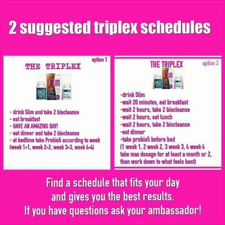 Ready to start TriPlex today? http://shopmyplexus.com/michellestrange/index.html