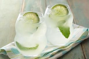 Mojito Lemon-Lime Cocktail recipe - This less-sweet version of the classic cocktail is so refreshing, you might get goose bumps.