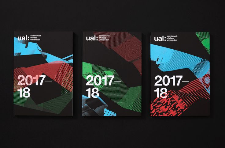 Brochures by Spy for the University of the Arts London 2016–17 campaign