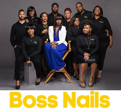 Two of my favorite pastimes include watching reality television and writing about acrylic nails, so when I received word of a new Oxygen series called Boss Nails, a show that shines light on the inner workings of a nail...