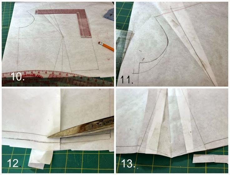 Draping The Basic Bodice: Drafting Front Bodice Sloper