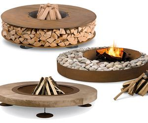 Best 25+ Wood Burning Fire Pit Ideas On Pinterest | Fire Pit Grate, Fire Pit  Be Used As A Grill And Fire Pit Near Wood Deck