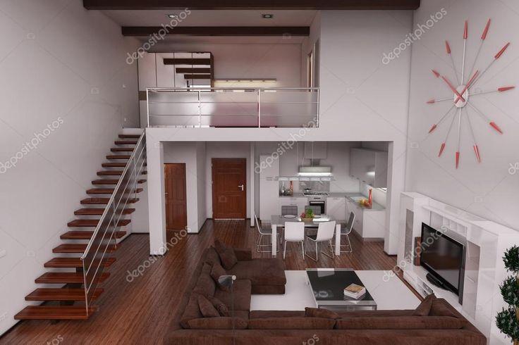 M s de 25 ideas incre bles sobre loft peque o en pinterest for Amueblar apartamento pequeno