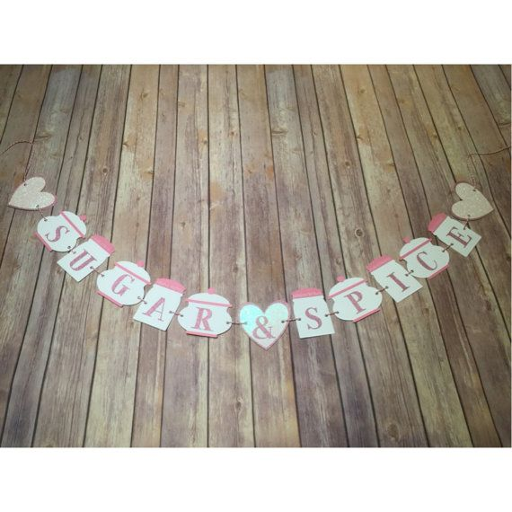 Sugar and Spice Baby Shower and Birthday Theme by simplyalexanne