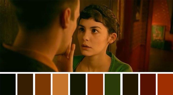 50 Iconic Films and Their Color Palettes - Amelie