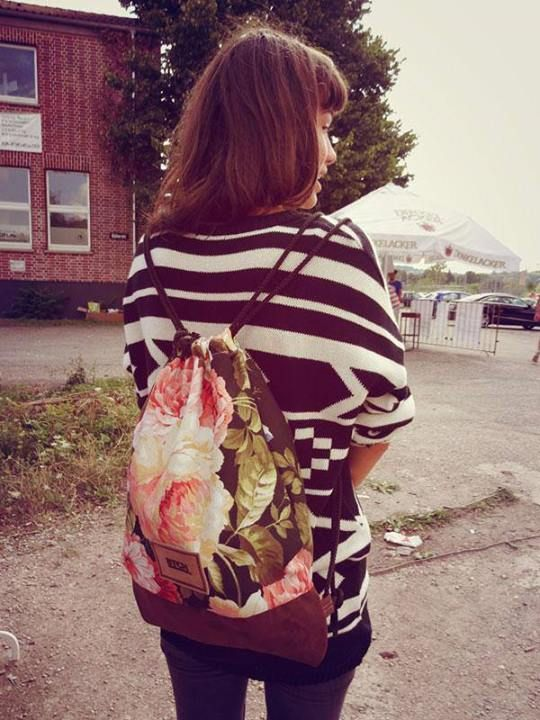 Our Flower Bag - Streetstyle.
