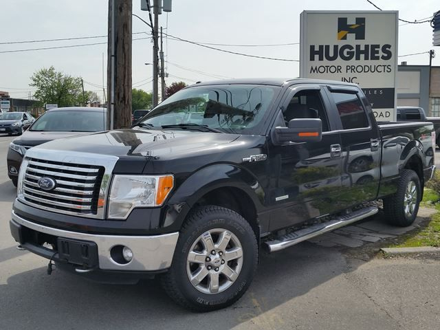2011 Ford F-150 Pickup - XLT comes with: Auxiliary Audio Input, ABS, Key-less Entry, Adjustable Steering Wheel, Cloth Seats, Four Wheel Drive, V6 Cylinder Engine,  Traction Control, Outside temp display and much more. All trade-ins welcome. Hughes Motor Products 416-252-1100