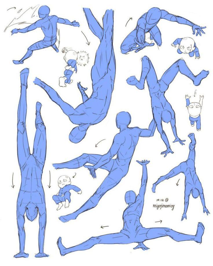 Учебник. Мужское тело и его пропорции/позы | 99 фотографий