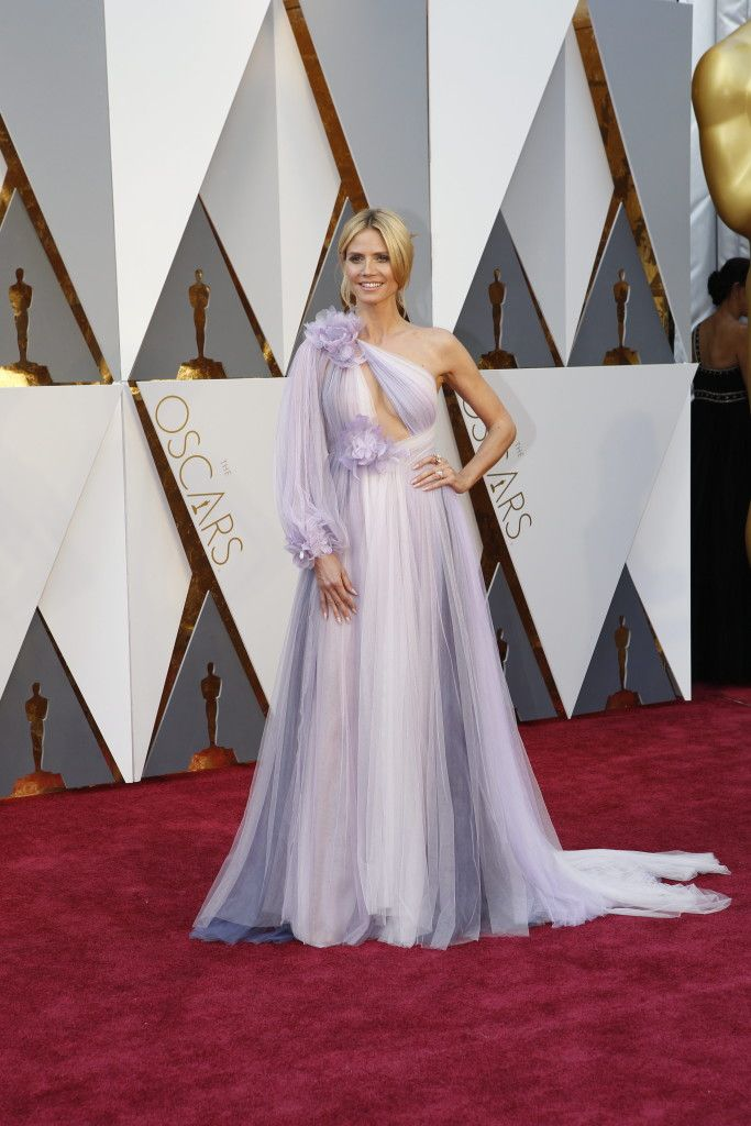 Heidi Klum - Oscars Red Carpet Arrivals: Oscars Red Carpet Arrivals 2016 - Oscars 2016 Photos | 88th Academy Awards