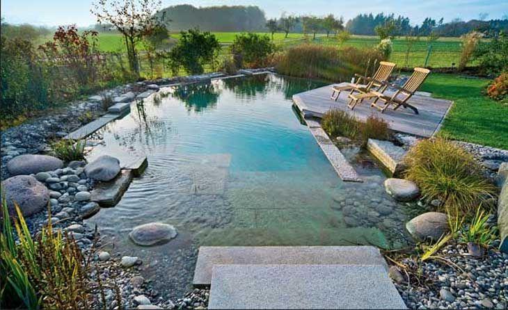 finden schwimmteich selber bauen gestaltung ideen mit terrassegestaltung garten pinterest. Black Bedroom Furniture Sets. Home Design Ideas