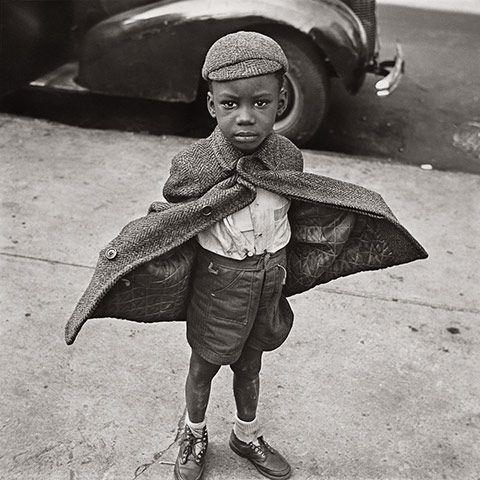 """""""Butterfly Boy,"""" Jerome Liebling, 1949."""