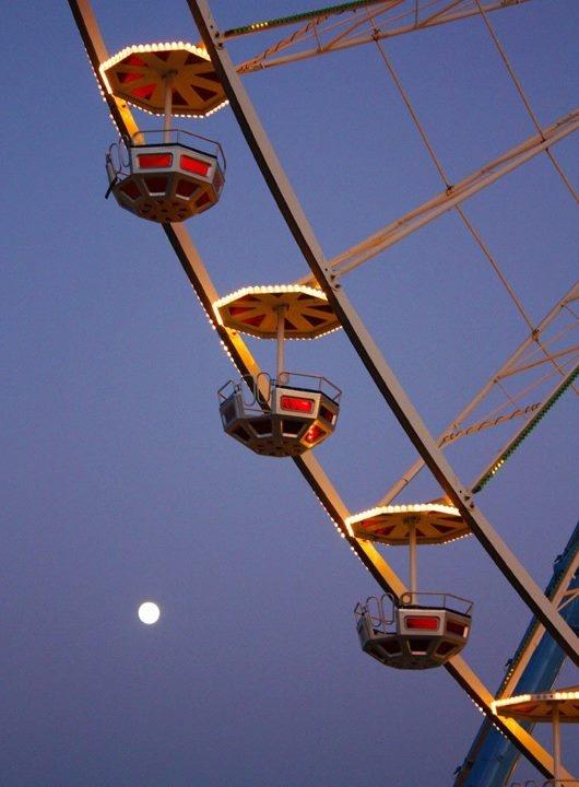 Ferris wheel in Rimini
