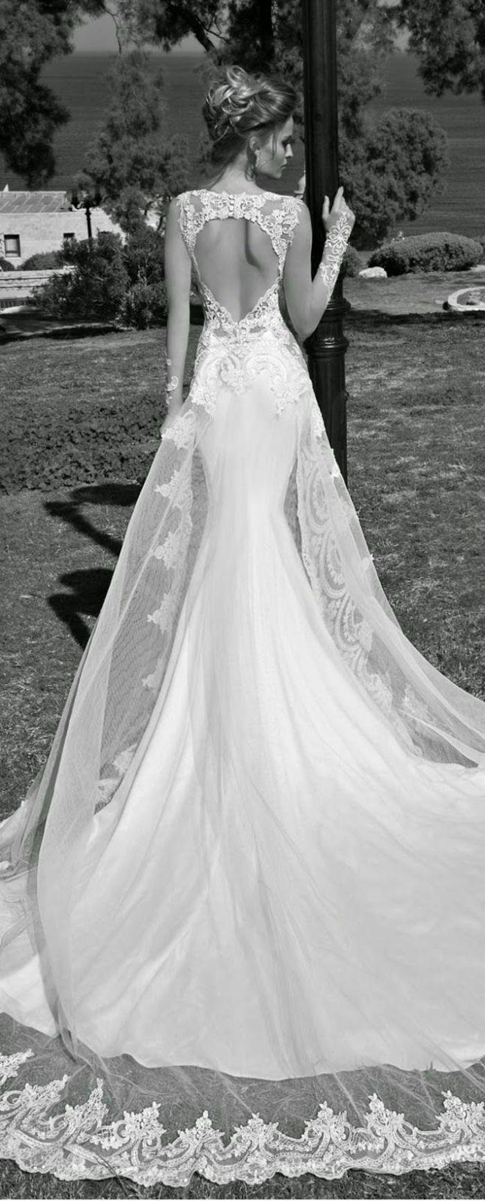 Rückenfreie Hochzeitskleider liegen voll im Trend – Sophie