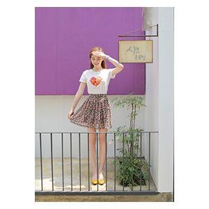 [픽키스트] korea fashion 레이미런던 잔꽃스커트 페미닌한 잔꽃플라워로 귀여움은 good 잔잔한 플라워로 떨어지는 꽃비느낌이 사랑스러운 플레어스타일이에요 - 19,800원 by 봉자샵