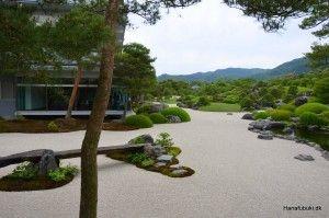 The garden, Adachi Art Museum