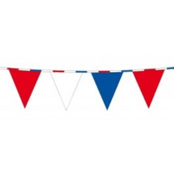 Vlaggenlijn Rood wit blauw lint http://www.happy-party.nl/
