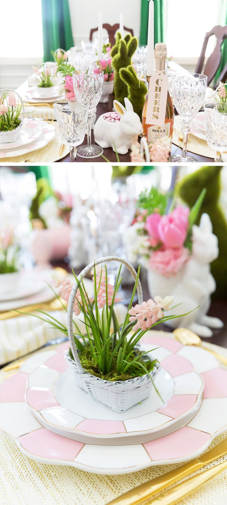 Easter Tablescape Inspiration u0026 Styling Tips 145