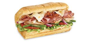 Imagine freshly baked bread stuffed with tender sliced turkey, ham, crispy bacon, melted cheese, and your choice of tasty vegetables and condiments. Now, stop imagining and get your mouth over to your nearest SUBWAY® Restaurant.