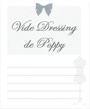 Vide dressing de Poppy