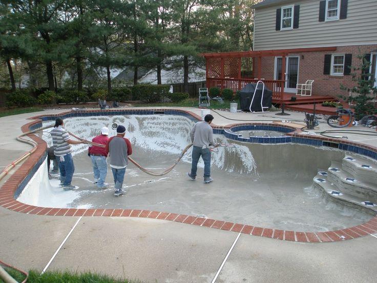 Inground Pool With Red Brick Coping Johnson Pools