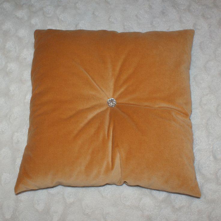 poduszka z aksamitu