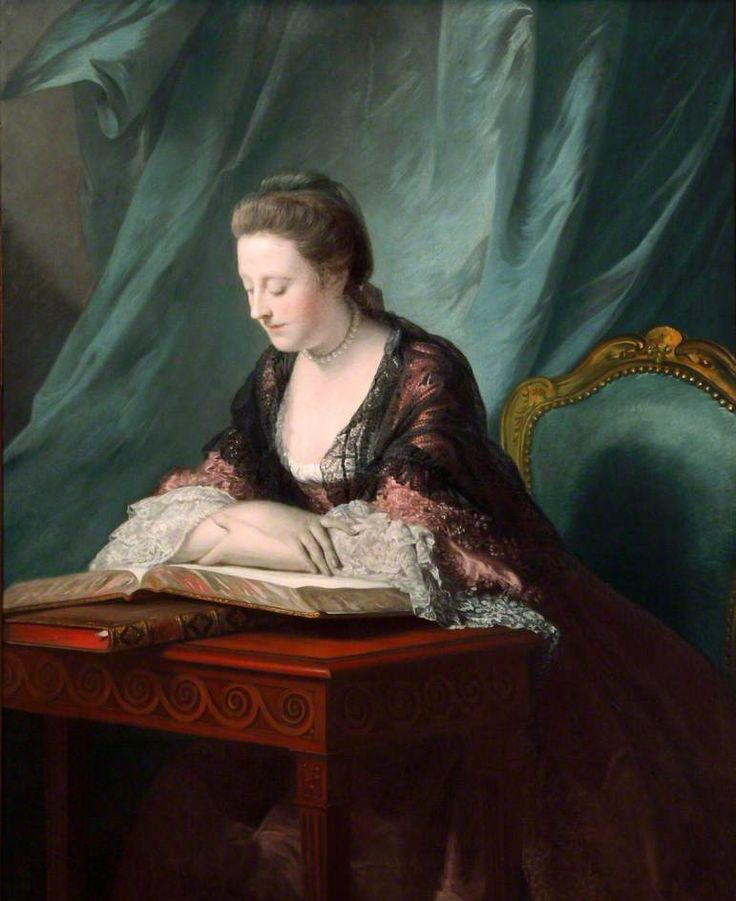 """""""Emily, Marchioness of Kildare"""", Allan Ramsay, 1764-66; National Museums Liverpool WAG 1356"""