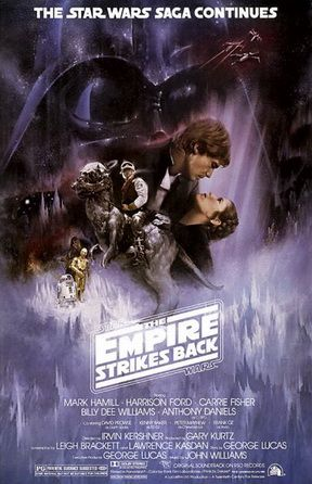 *STAR WARS: Episode V - The Empire Strikes Back, 1980. With text: