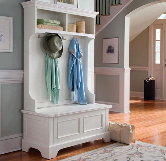 Portable mudroom storage bench and cabinet