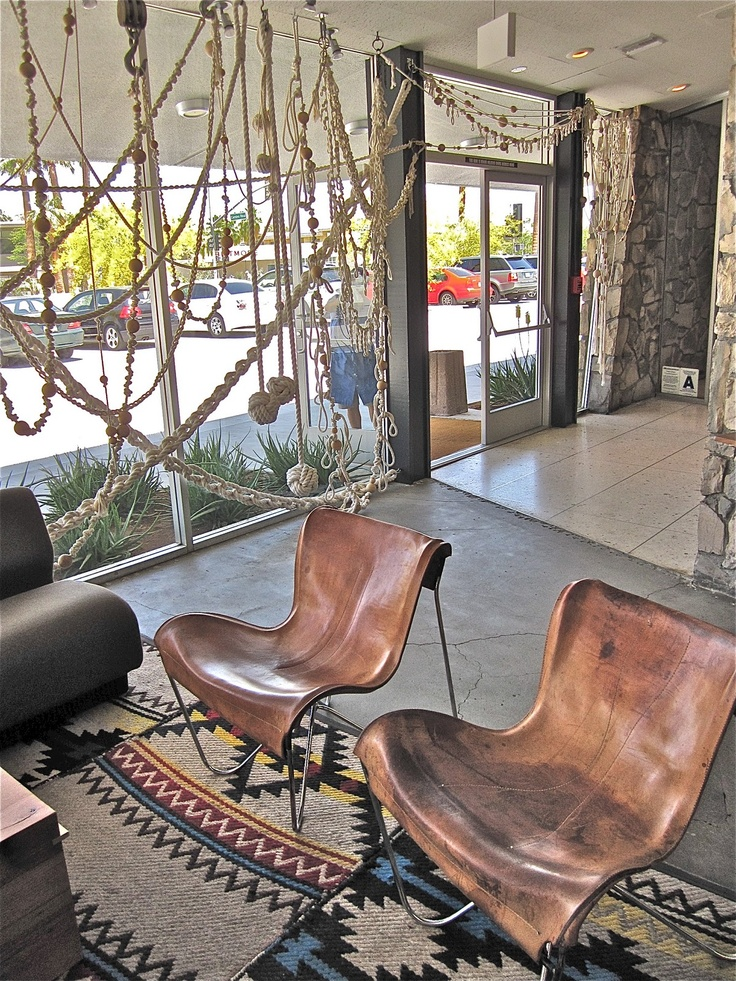 Ace Hotel...cool chairs!