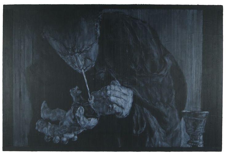 "Stefan (24"" x 36"" - acrylic on canvas)"