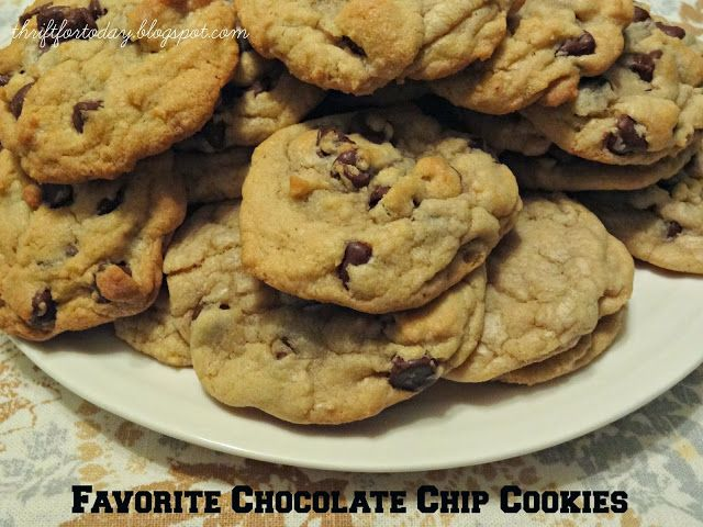 Easy chocolate chip cookies, Chocolate chip cookies and Chip cookies ...