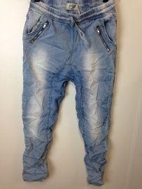 Low Crotch Baggy jeans met lint | Broeken / catsuits / jogging pak | ladies fashion yess-style