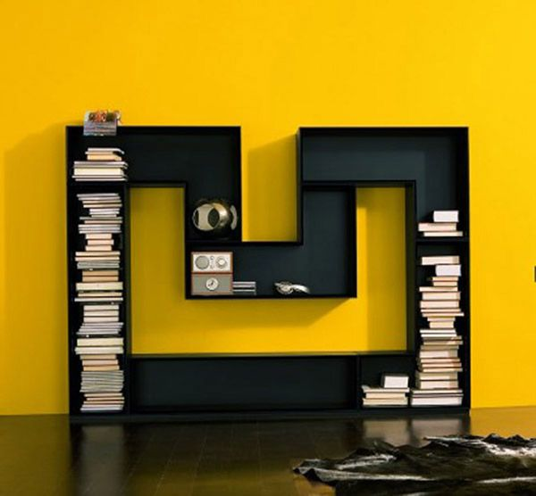 Wonderful As Someone Who Is A Self Confessed Bookworm, Its Always Great To Come  Across Interesting And Unique Bookshelves. The M Shaped Bookcase From  Luxury House Is